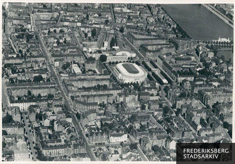 Det Nordøstlige Frederiksberg I Centrum Er Forum Foran