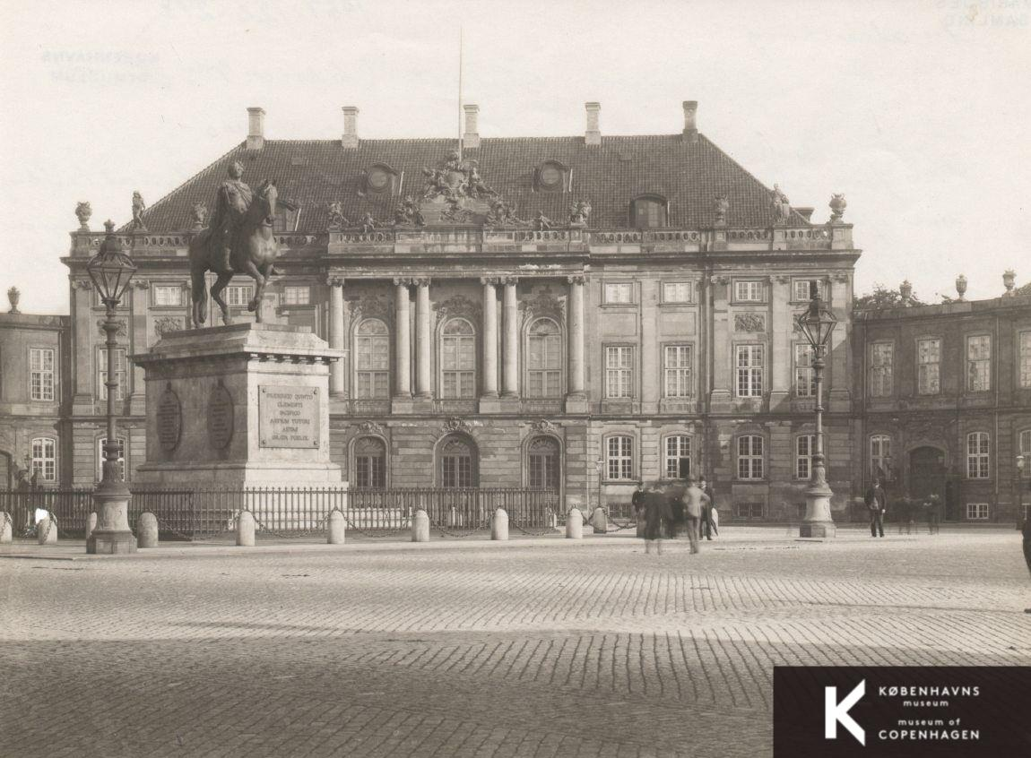 Amalienborg Christian Ixs Palæ Kbhbillederdk